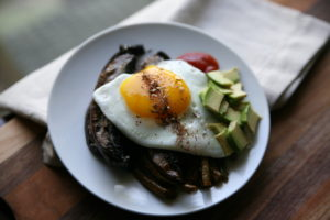 Egg Topped Leftovers | BourbonandHoney.com