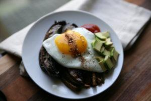 Egg Topped Leftovers   BourbonandHoney.com