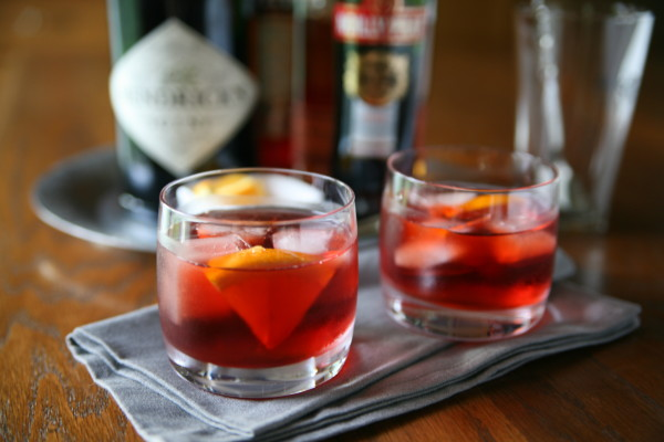 Negroni Cocktail | BourbonAndHoney.com