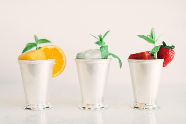 StyleMePretty.com - Trio of Drinks