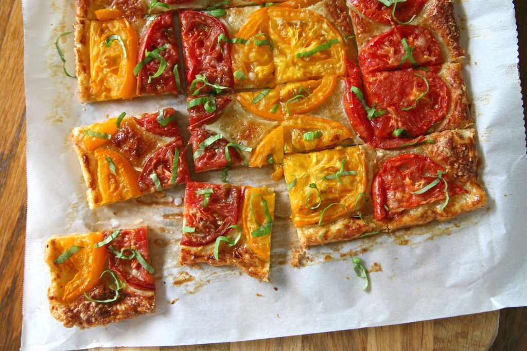Heirloom Tomato Tart | BourbonAndHoney.com