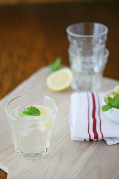 Elderflower Gin Cocktail | BourbonAndHoney.com