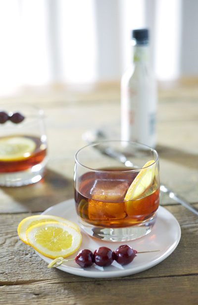 Rob Roy Cocktail | BourbonAndHoney.com