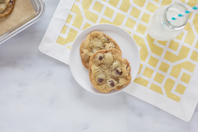 The Best Basic Chocolate Chip Cookies | BourbonandHoney.com
