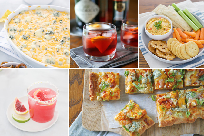 Recipe Roundup: 20 Best Super Bowl Snacks and Cocktails