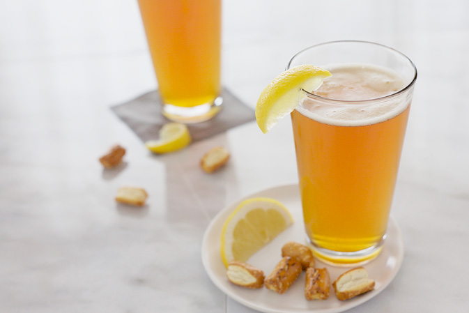 Bourbon and Honey Beer Cocktail