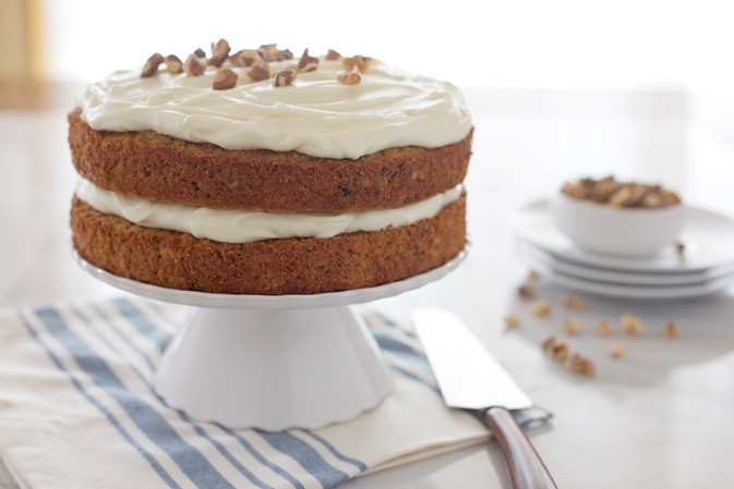 Carrot Cake with Bourbon Cream Cheese Frosting | Bourbon ...