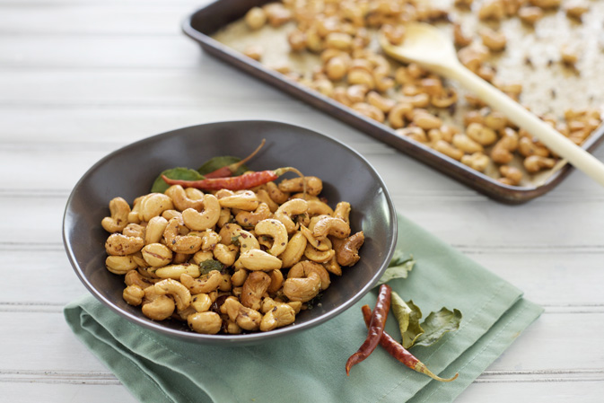 Chile and Kaffir Lime Cashews | Bourbon and Honey