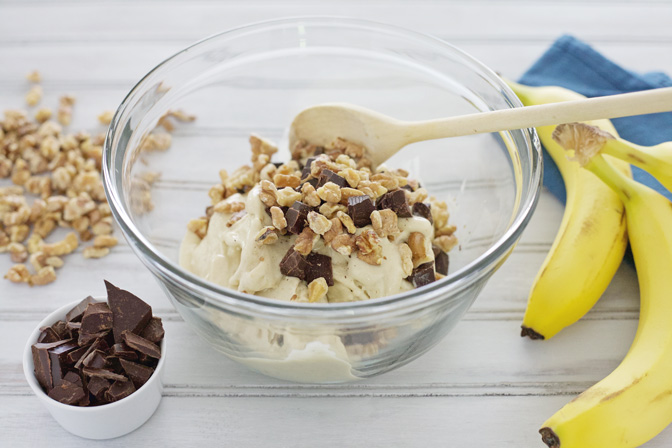 Chunky Monkey Banana Ice Cream