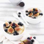Blueberry Fig Overnight Oatmeal | BourbonandHoney.com