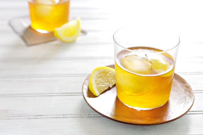 Bourbon and Honey Sazerac Cocktail