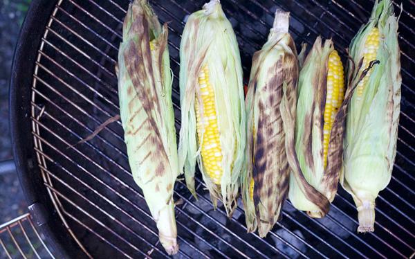 Grilled Corn on the Cob | BourbonandHoney.com