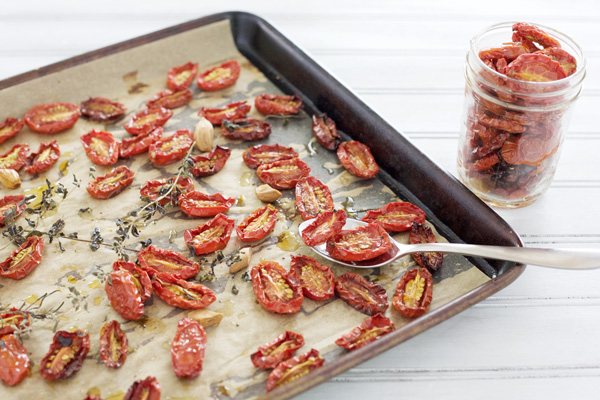 Slow-Roasted Tomatoes | BourbonAndHoney.com