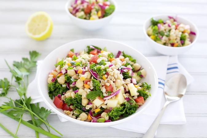 Rainbow Veggie Grain Salad