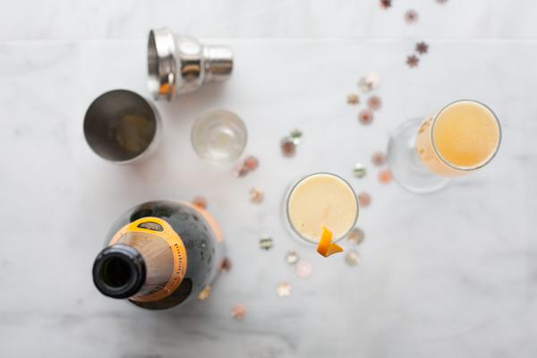Bourbon and Honey French 75 | BourbonandHoney.com