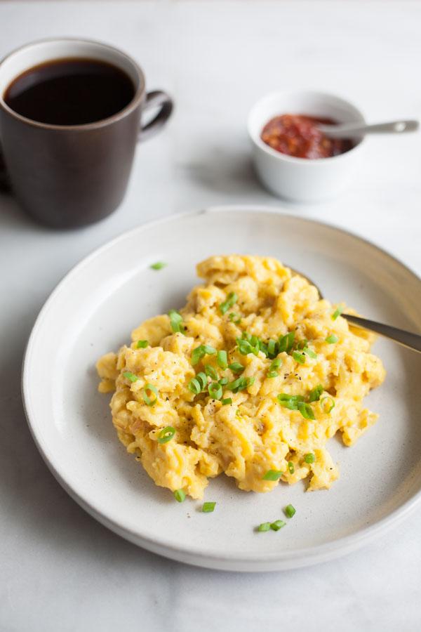 Perfect scrambled eggs bourbon and honey perfect scrambled eggs bourbonandhoney fandeluxe Document