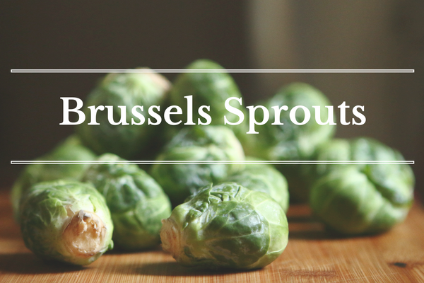 What's in Season: November - Brussels Sprouts | BourbonandHoney.com