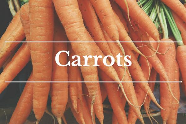 What's in Season: November - Carrots | BourbonandHoney.com