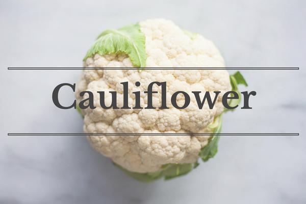 What's in Season: November - Cauliflower | BourbonandHoney.com