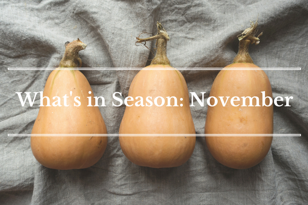 What's in Season: November