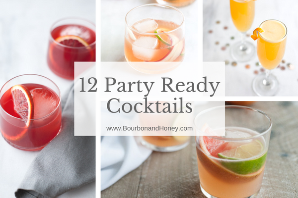 12 Party Ready Cocktails for the New Year