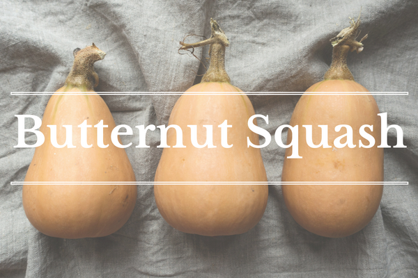 What's in Season: January - Butternut Squash | BourbonandHoney.com