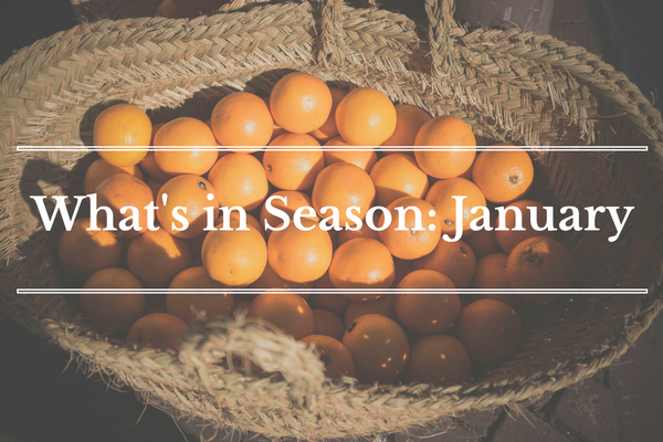 What's in Season: January | BourbonandHoney.com