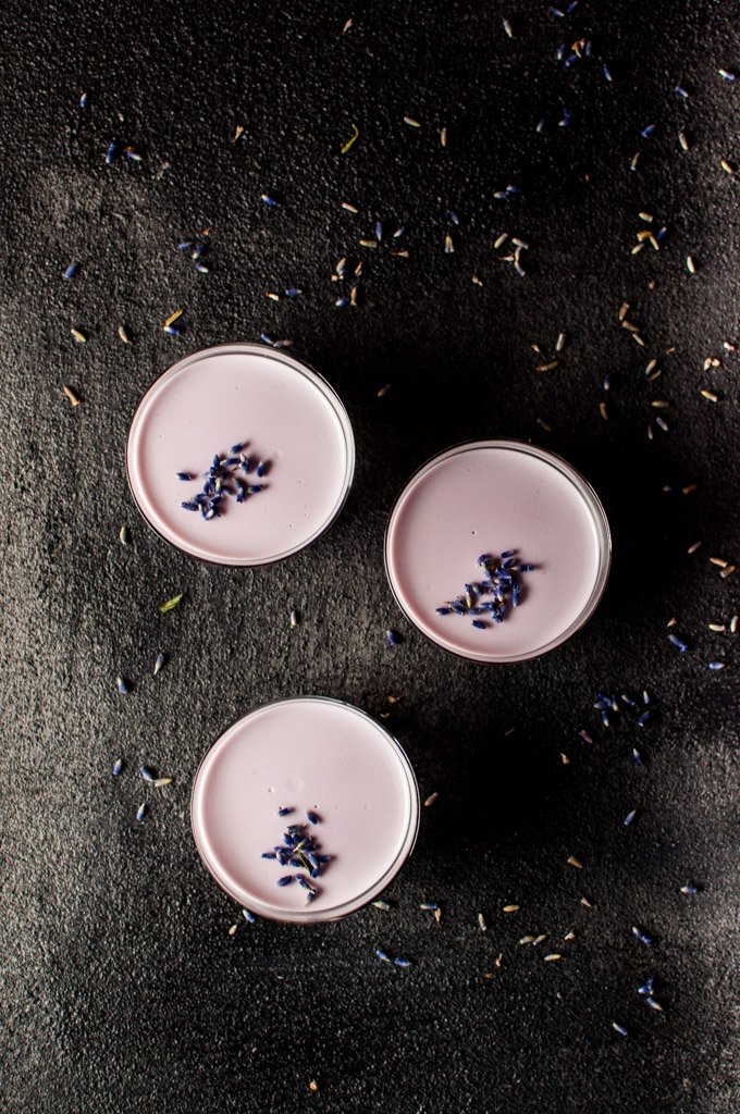 Lavender Panna Cotta | Salt & Lavender