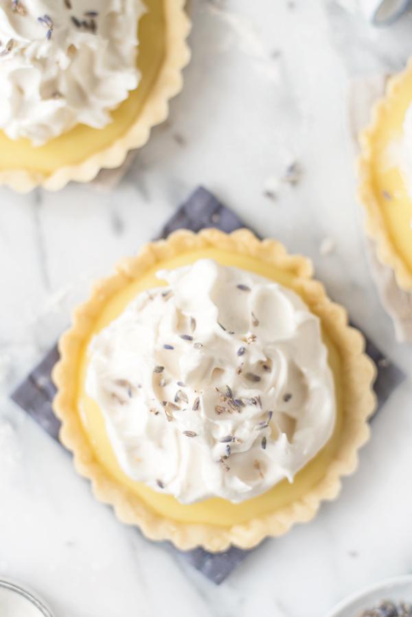 Lemon Lavender Tarts | Bouchon Pate Sucree