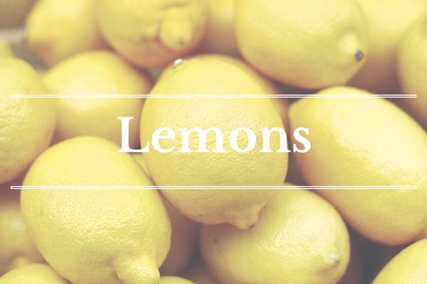 What's in Season: February - Lemons | BourbonandHoney.com