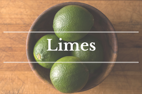 What's in Season: February - Limes | BourbonandHoney.com