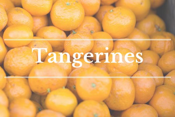 What's in Season: February - Tangerine | BourbonandHoney.com