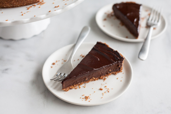 Bourbon and Honey Chocolate Tart