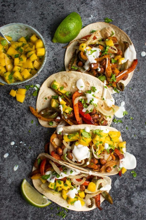 One Tray Bean Tacos | Lauren Caris Cooks
