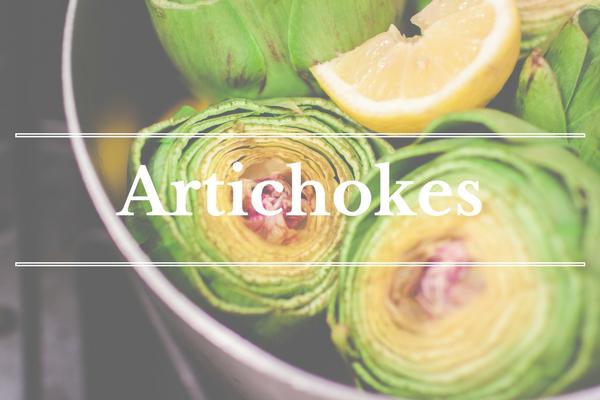 What's in Season: Artichokes | BourbonandHoney.com
