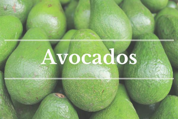 What's in Season: Avocados | BourbonandHoney.com