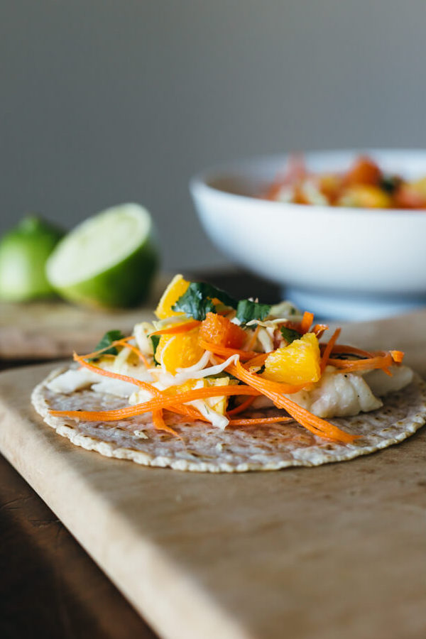 grilled-fish-tacos-with-citrus-carrot-slaw-Downshiftology