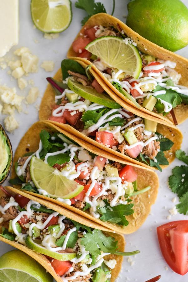 slow-cooker-chicken-carnitas-tacos-| Isalbel Eats