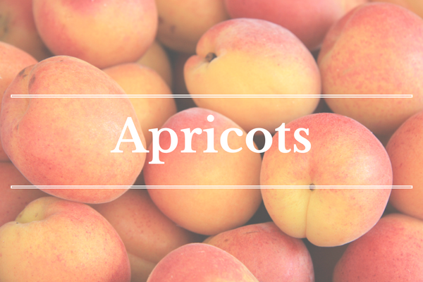 What's in Season: Apricots | What's in Season: Nectarines | BourbonandHoney.com --From apricots, arugula and kohlrabi to strawberries and peas this 'What's in Season' feature is a collection of the best fruits, veggies and recipes for the month of May.