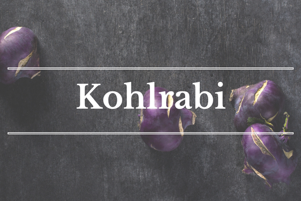 What's in Season: Kohlrabi | BourbonandHoney.com --From apricots, arugula and kohlrabi to strawberries and peas this 'What's in Season' feature is a collection of the best fruits, veggies and recipes for the month of May.