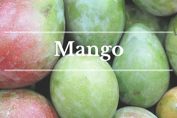 What's in Season: Mango | BourbonandHoney.com -- From mangos and cucumbers to blackberries and swiss chard this 'What's in Season' feature is a collection of the best fruits, veggies and recipes for the month of June.