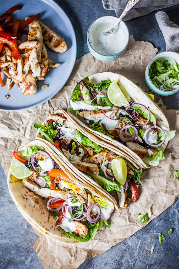 Grilled Chicken Tacos | Vibrant Plate