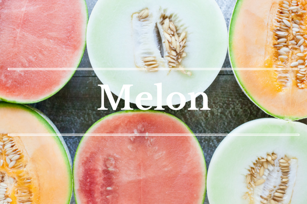 What's in Season: Melon | BourbonandHoney.com -- From corn and eggplant to green beans and peaches this 'What's in Season' feature is a collection of the best fruits, veggies and recipes for the month of July.