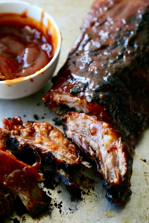 sweet-and-spicy-pork-ribs | The Seaside Baker