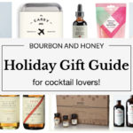 Bourbon and Honey Holiday Gift Guide for Cocktail Lovers | BourbonandHoney.com -- From copper Moscow Mule cups to cocktail kits and a boozy advent calendar, this 2017 Holiday Gift Guide has something for every cocktail lover in your life!